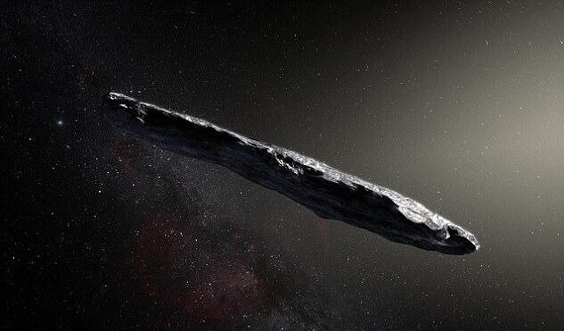 Gizemli asteroid Oumuamua yoksa bir uzay gemisi mi?