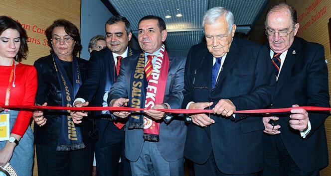 Galatasaray Stadyumu'nda Özhan Canaydın Konferans Salonu açıldı