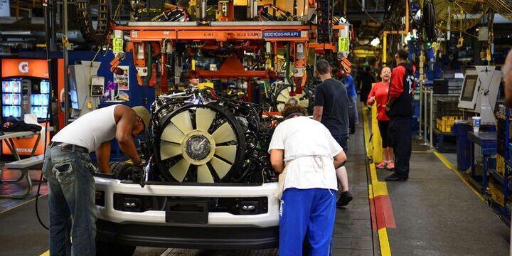 ABD'de imalat sanayi PMI 11 ayın zirvesinde
