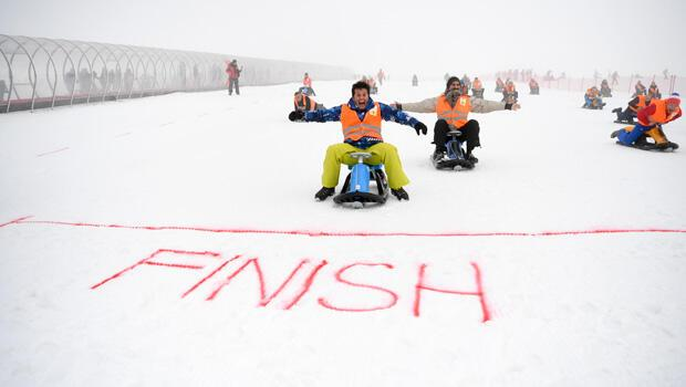 Erciyes'te büyük yarış