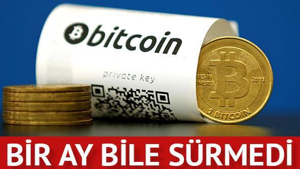 Bitcoin dur durak bilmiyor!