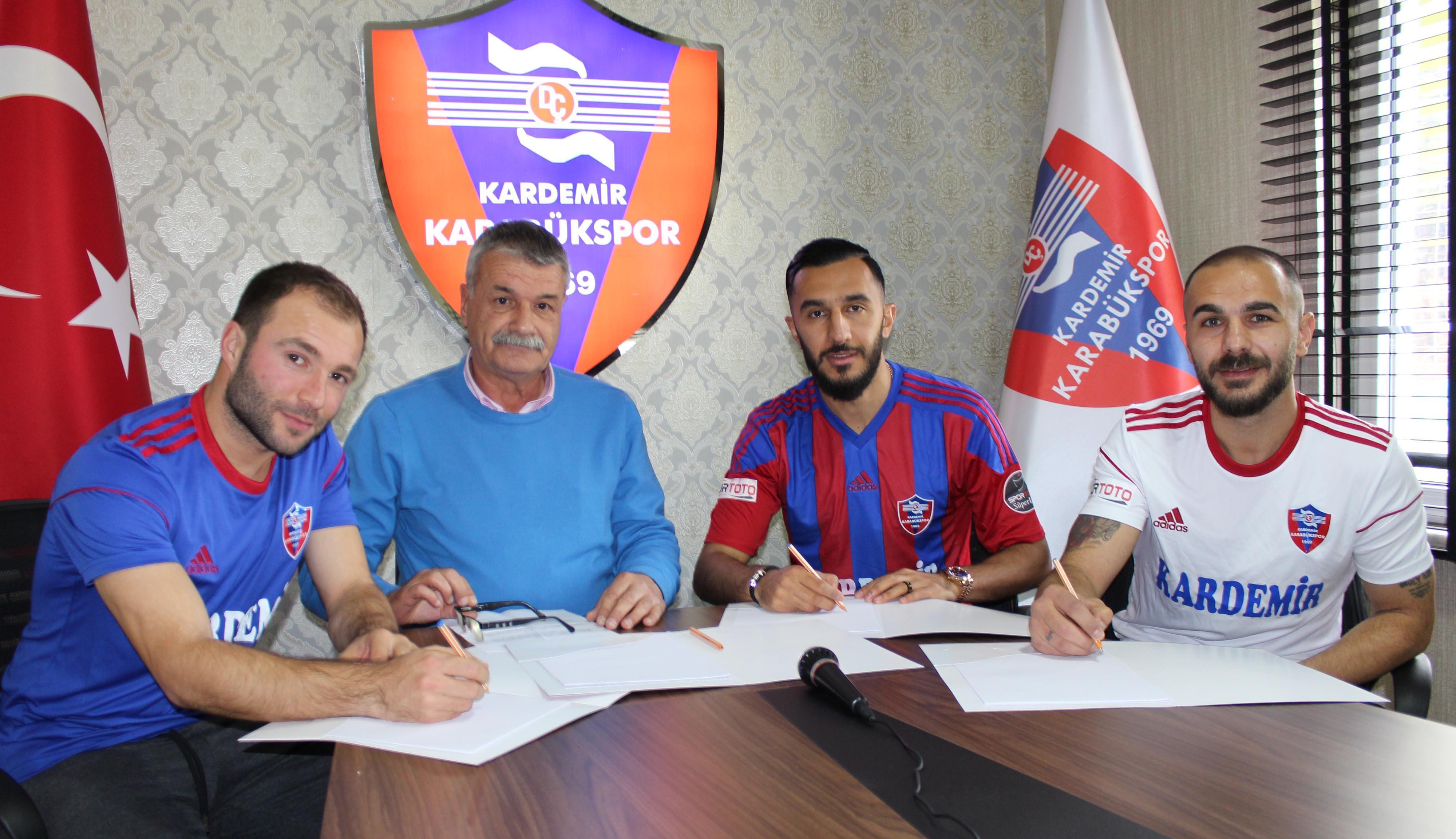 Karabükspor'da 3 transfer birden!