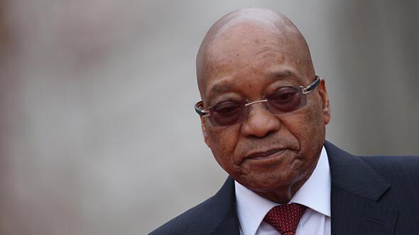 Güney Afrika Devlet Başkanı Zuma istifasını açıkladı