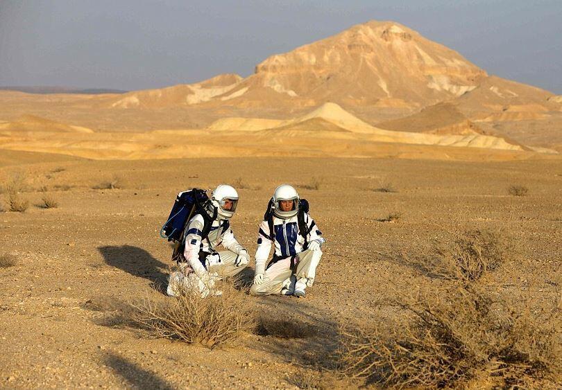 4 günde Mars deneyimi