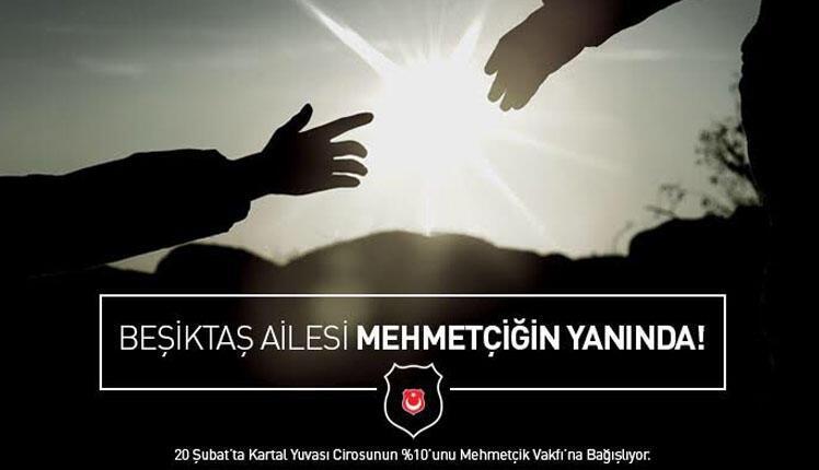 Beşiktaş ailesi Mehmetçiğin yanında!