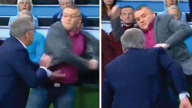 Rus televizyon programında yumruklar konuştu