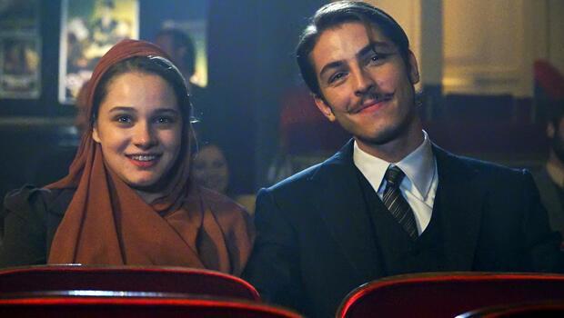 Amerika'ya damga vurdular! En İyi TV Çifti: Hilal ve Leon