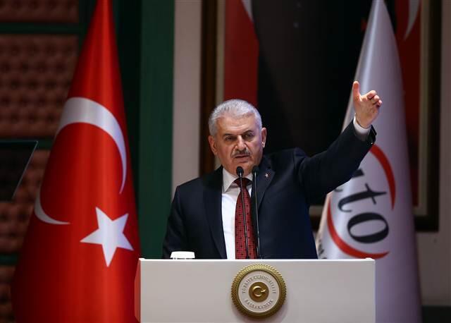 Yıldırım, Ankara Ticaret Odası'nın Olağan Meclis Toplantısında özetle şunları söyledi:VESAYETÇİLER