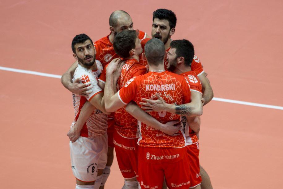 Erkekler CEV Kupası'nda Ziraat Bankası finalde
