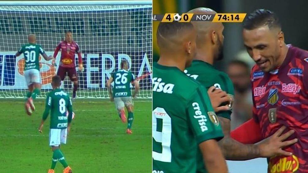 Melo'nun penaltısı Brezilya'da olay oldu!