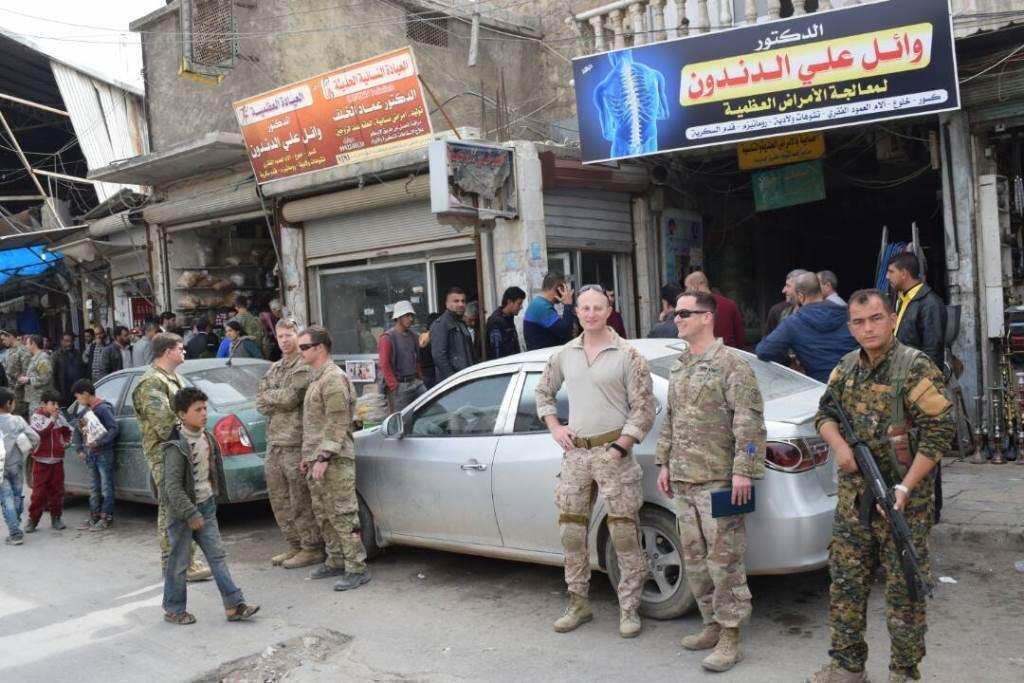 ABD'den skandal hamle! YPG ile sokağa çıktılar!