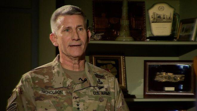 Afganistan'daki ABD güçlerinin komutanı Rusya Taliban'ı silahlandırıyor