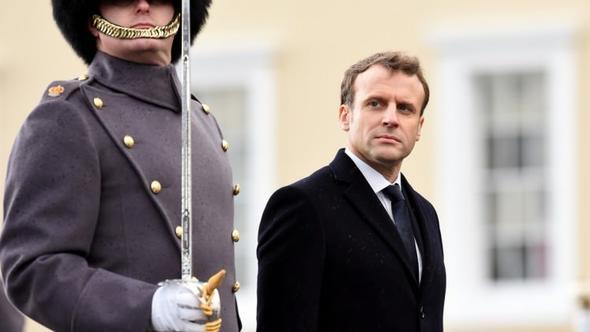 Fransanın yeni cumhurbaşkanı Macron, Avrupa dışındaki ilk ziyaretini Maliye yaptı