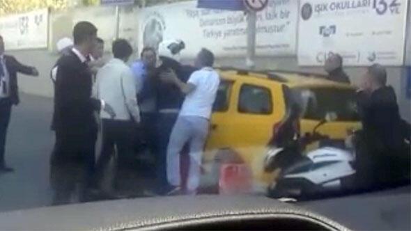 İstinye'de taksicinin fazla para istediği iddiası ortalığı karıştırdı