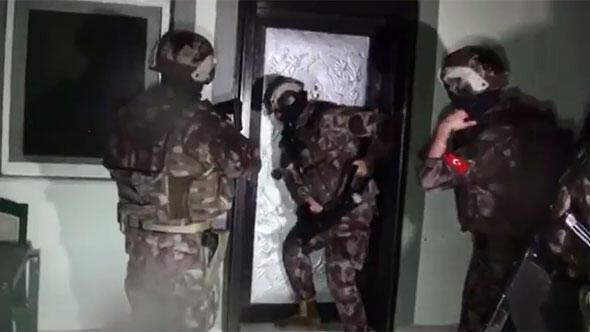 İstanbul Narkotik Şube Müdürlüğü ekipleri, Afganistan'da üretilen yüklü miktarda eroinin