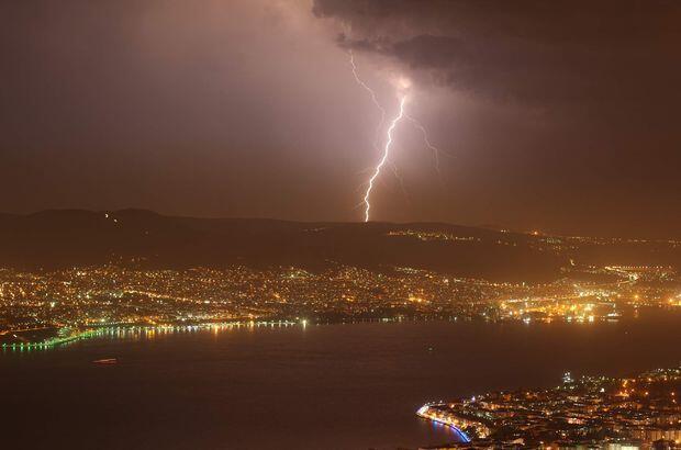 Habertürk Gazetesi`nden Uzay Kesmen`in haberine göre fırtınalar, yağmurlar; gök gürültüsü,