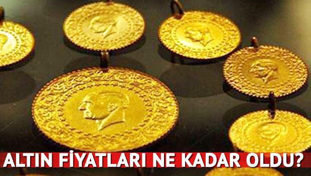 Altının gram fiyatı son olarak 186.73 liradan işlem görürken, çeyrek