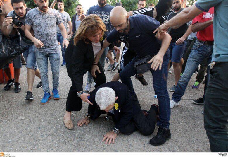 'Türkler kardeşim' diyen başkana saldırdılar!
