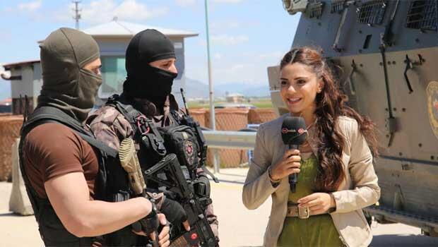 Semra Güzel'den kahraman polislere özel program!