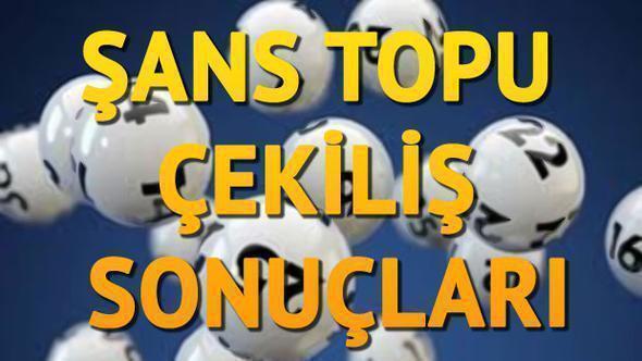 Milli Piyango İdaresi`nin Ankara`da gerçekleştirdiği çekilişle birlikte Şans Topu sonuçlarının