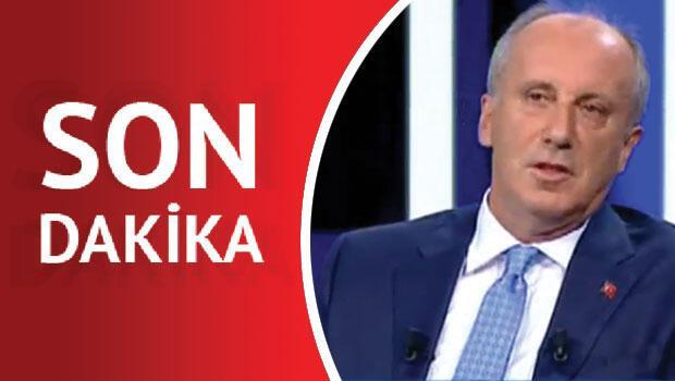 Cumhuriyet Halk Partisi`nin cumhurbaşkanı adayı Muharrem İnce, CNN Türk`te Hürriyet