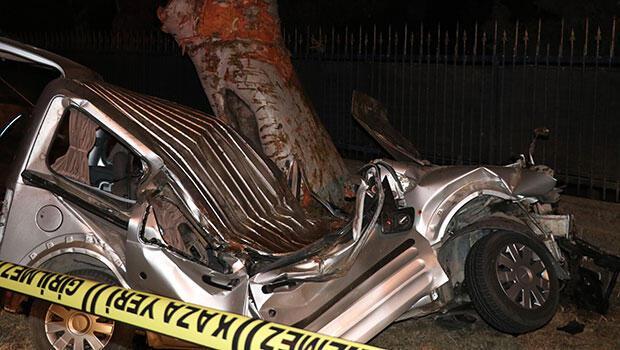 Kaza, saat 23.00 sıralarında Mithatpaşa Caddesi, İstikam Lojmanları önünde meydana
