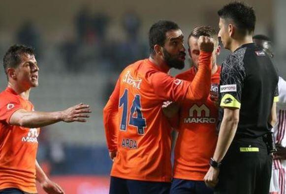 Arda Turan'a bir ceza da Başakşehir'den