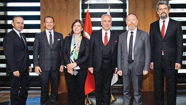 TÜSİAD HDP yöneticilerini dinledi