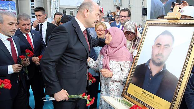 Bakan Soylu, FETÖ`nün 15 Temmuz darbe girişimi sırasında bombaladığı Ankara