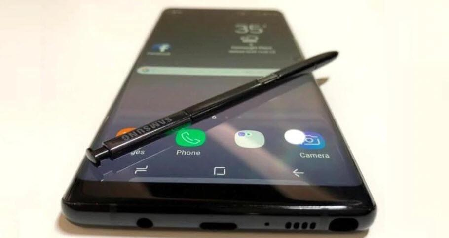 Galaxy Note 9 resmen ortaya çıktı!