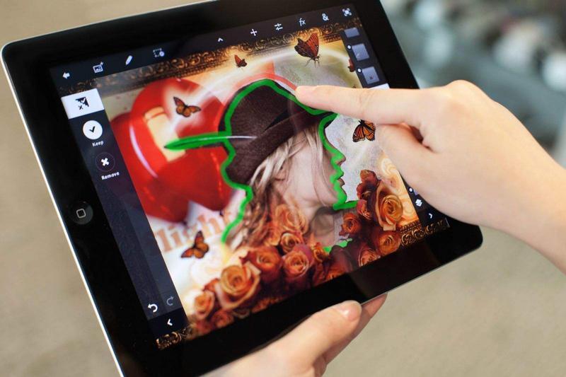 iPad'ler için Photoshop sürprizi