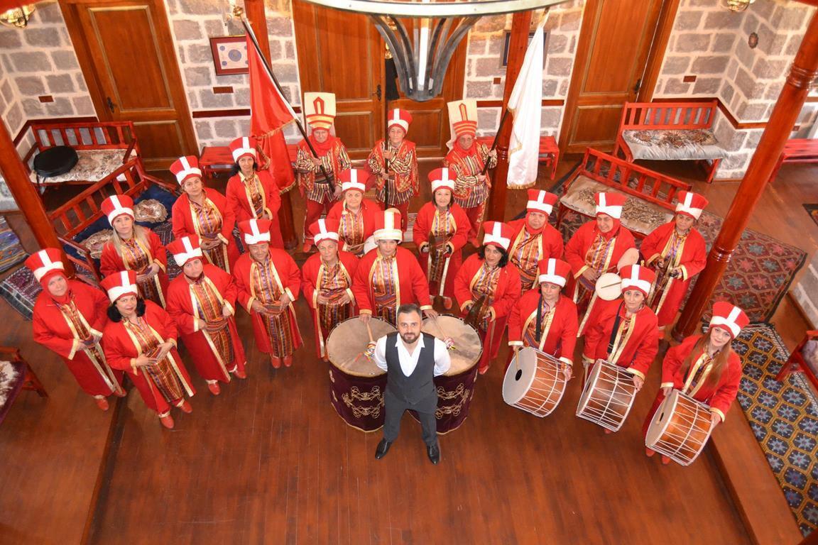 Altındağ Belediyesi kadın mehteran takımı beş yılır gösterdiği üstün performansla
