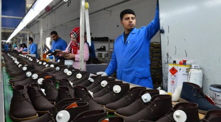 Erkek ayakkabılarının yüzde 35'i Hatay'da üretiliyor