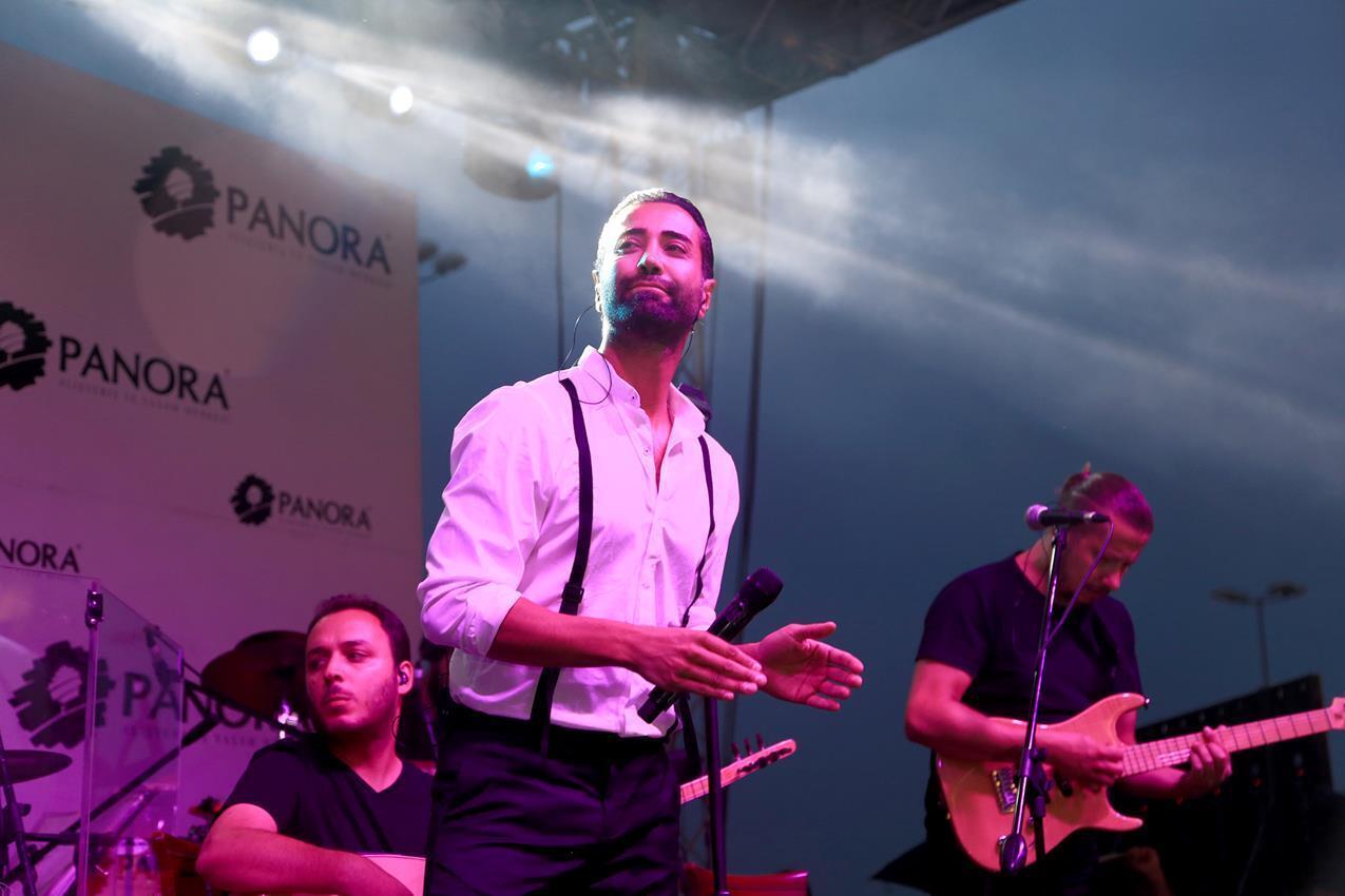 Panora AVM'nin düzenlediği Teras Konserleri'nde, Türk pop müziğin sevilen isimlerinden
