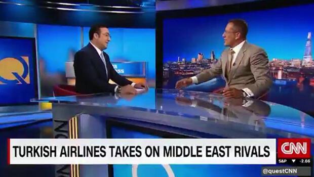 THY Yönetim Kurulu ve İcra Komitesi Başkanı İlker Aycı, CNN İnternational'a konuk oldu