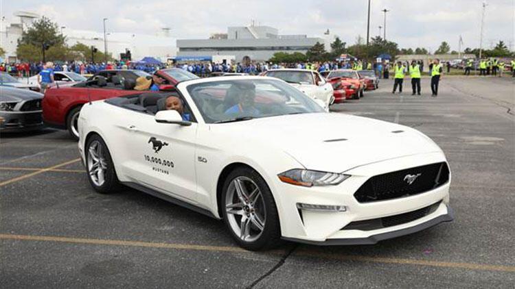 Ford Com Mustang >> 10 Milyonuncu Ford Mustang Banttan Indi Sondakika Ekonomi Haberleri