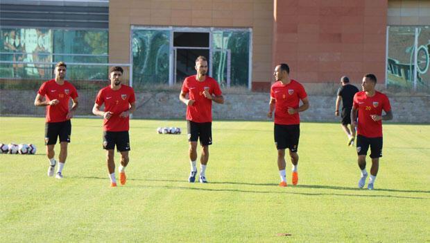 Kayserispor'da Antalyaspor hazırlıkları sürüyor