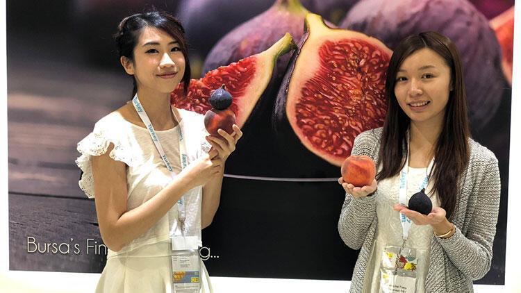 Bursa inciri Uzakdoğu pazarında