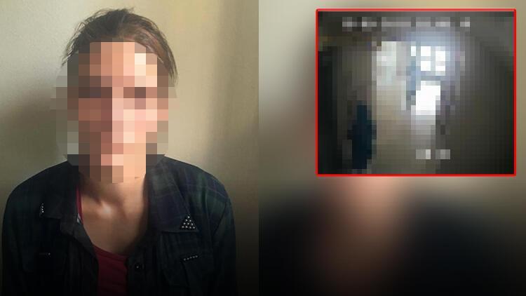 Hamile kadın pes artık dedirtti! Görüntüleri inkar etti