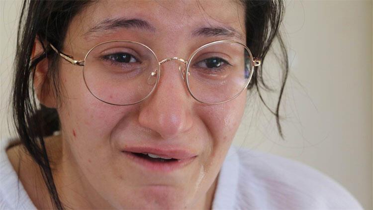 Gözyaşları içinde Bakan'a seslendi: Okula gitmek istiyorum…