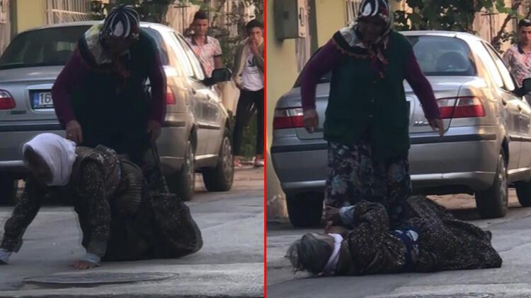 İnsafsız gelin sokak ortasında böyle dövdü! Söyledikleri şoke etti