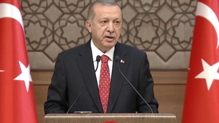 Cumhurbaşkanı Erdoğan'dan son dakika mesajları