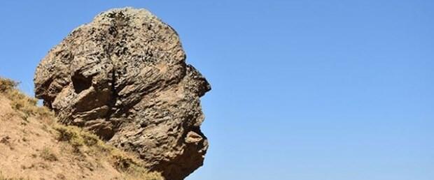 Muş'ta doğal yollarla oluşan 'Ovaya Bakan Adam' turizme kazandırılacak
