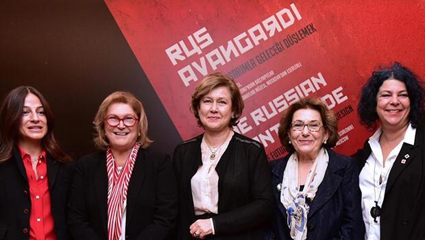 Rus Avangardı akımının Türkiye'deki en kapsamlı sergisi