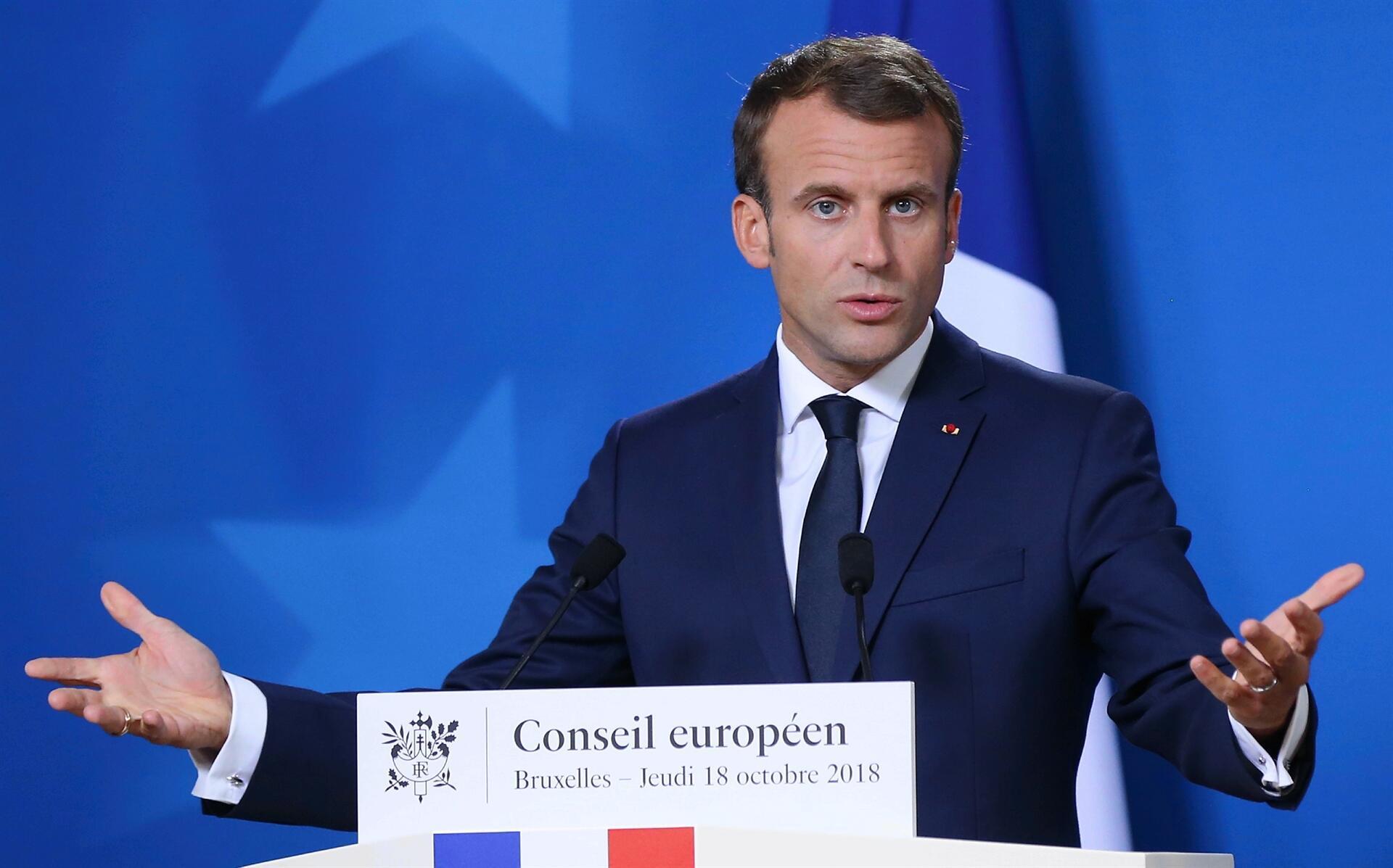 Macron: Kaşıkçı olayıyla ilgili bildiğimiz şeyler aşırı ciddi ve endişe verici