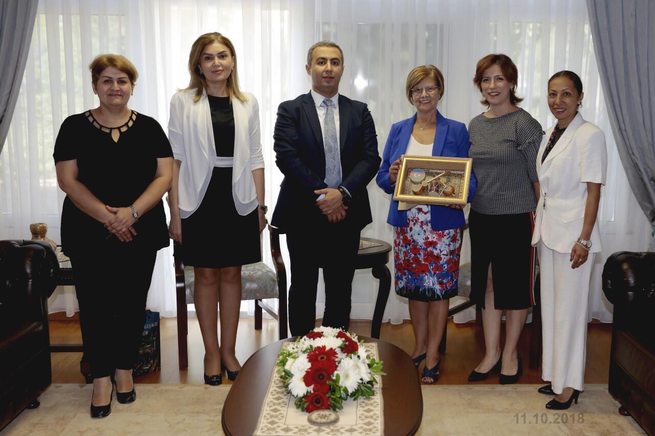 KKTC Cumhurbaşkanı'nın eşi Meral Akıncı TÜRKAP Onursal Başkanı oldu