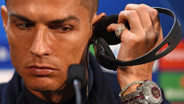 Ronaldo'nun 14 milyonluk müthiş saati