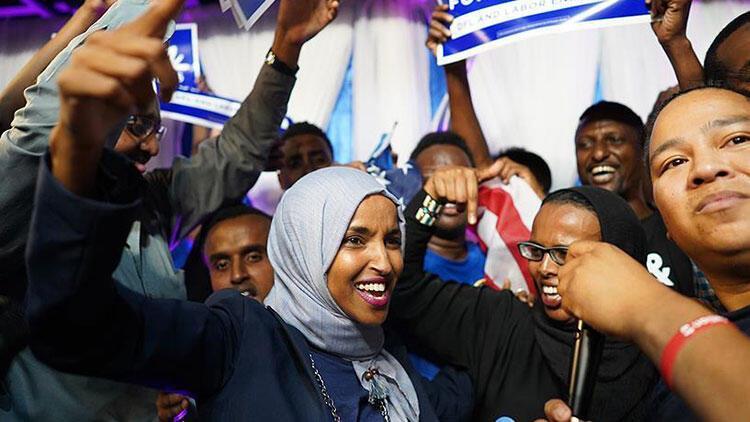 Son dakika... ABD'de ilk Müslüman kadın üye