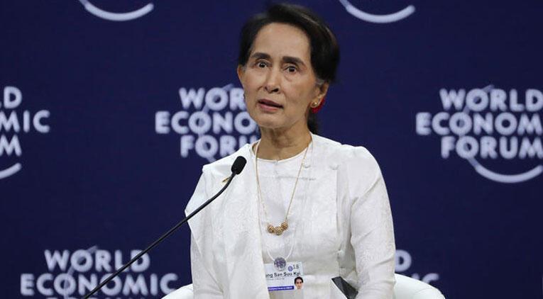 Uluslararası Af Örgütü Suu Çii'ye verdiği Vicdan Elçiliği Ödülü'nü geri aldı