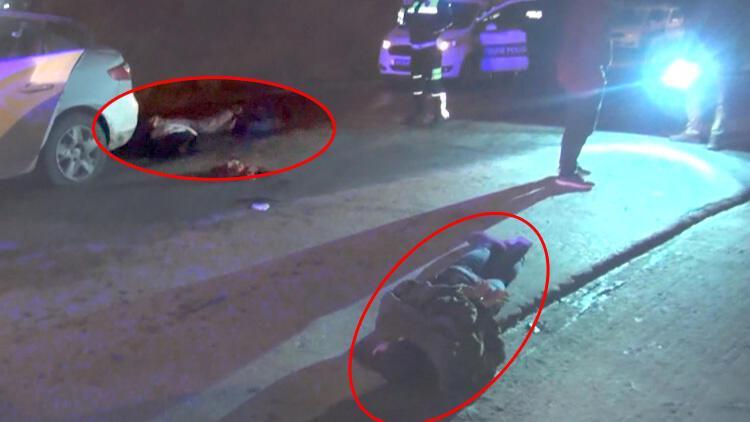 Arnavutköy'de hareketli dakikalar! Polise ateş açtılar...